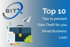 Top 10 tips to prevent Data Theft for your Small Business