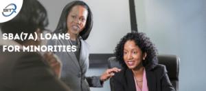 SBA(7a) Loans for Minorities, BitX Blog Photo